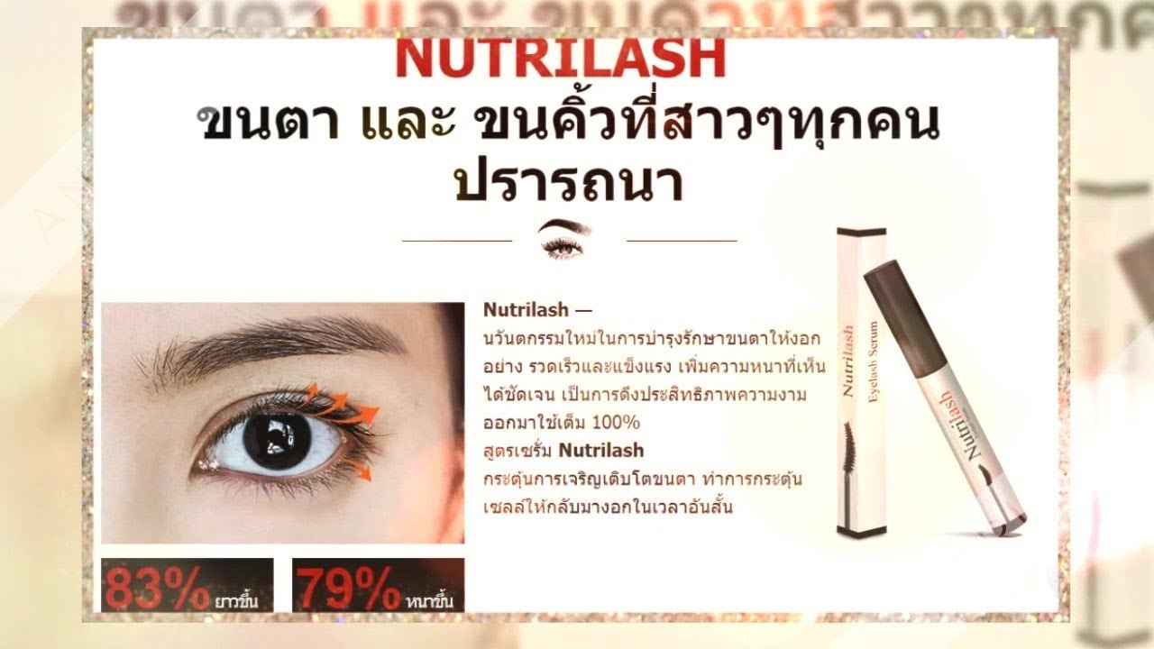 Nutrilash Eyelash Serum