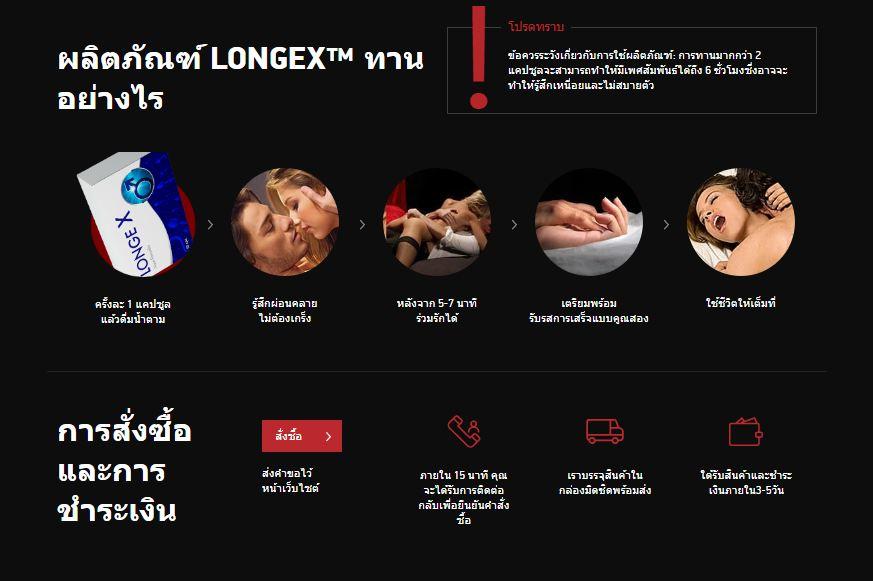 LongeX Capsule thailand