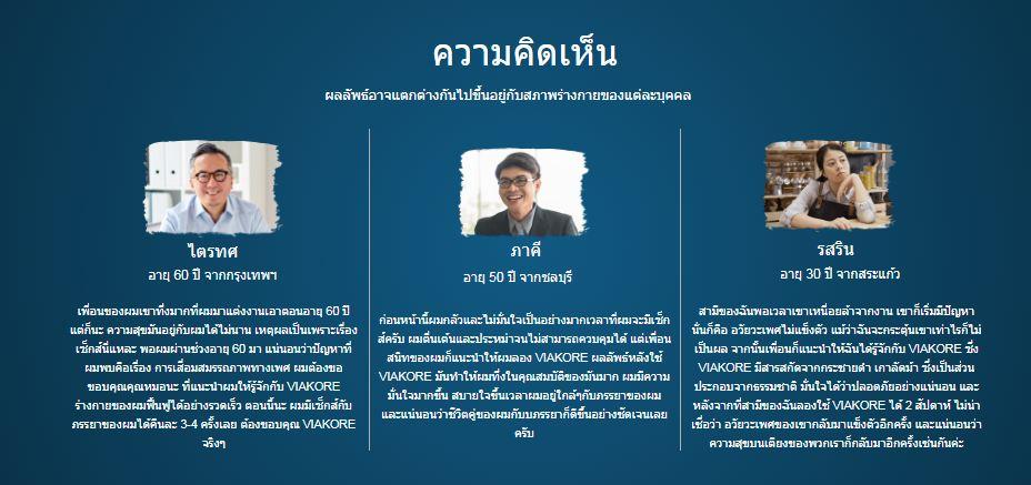 Viakore หาซื้อได้ที่ไหนในประเทศไทย